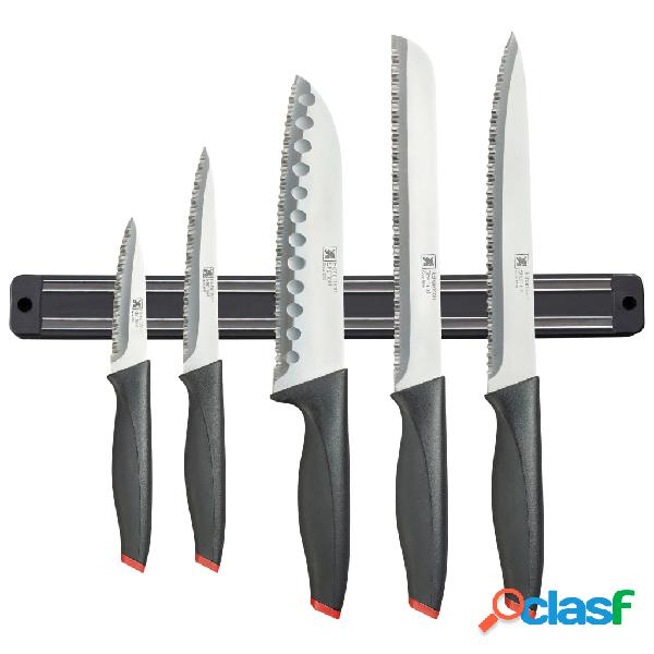 Richardson Sheffield Juego cuchillos y soporte magnético