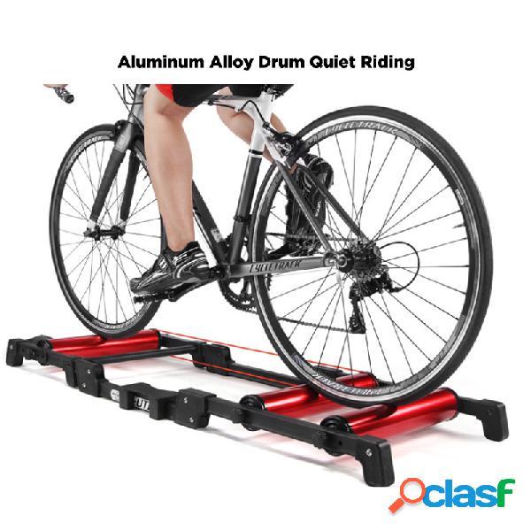 Rodillos de entrenador de bicicleta Ejercicio en el hogar en