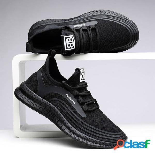 Season Tide Shoes Nuevos zapatos para hombres Trend Flying