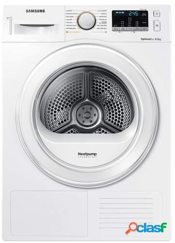 Secadora Samsung DV80M5010IW - A++, Condensación, Bomba de