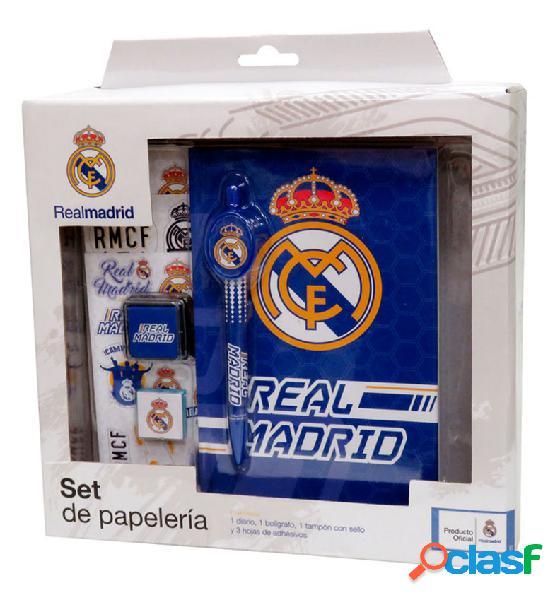 Set papelería Real Madrid