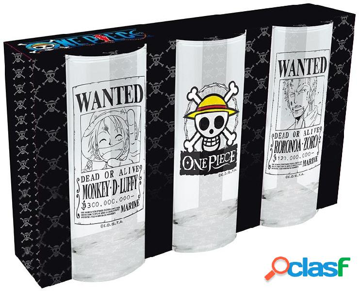 Set vasos de tubo One Piece