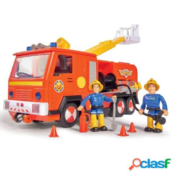 Simba Camión de bomberos de juguete Jupiter 2.0 rojo y