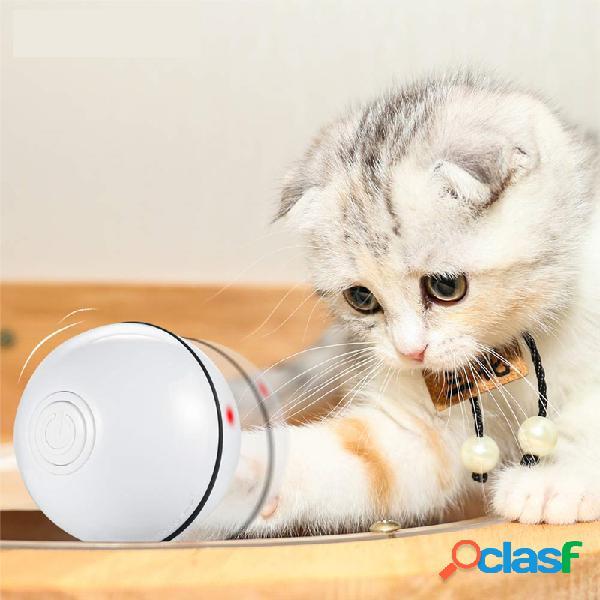 Smart Interactive Pet Toys LED Luminous Ball USB Charging