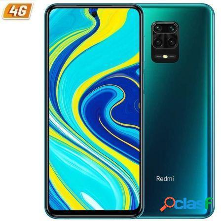 Smartphone movil xiaomi redmi note 9s aurora blue -