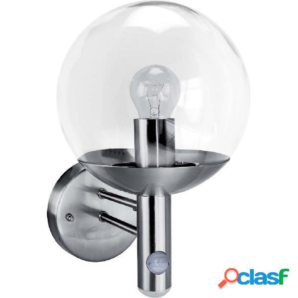 Smartwares Lámpara de seguridad 60 W cromado RVS46LA