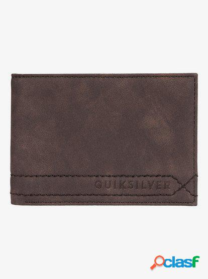 Stitchy - Cartera de Doble Hoja - Marron - Quiksilver