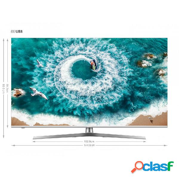 TV LED HISENSE 65U8B 4K UHD