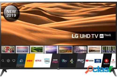 "TV LG 60"" 60UM7100PLB - UHD 4K, Smart TV ThinQ AI, 4K Active"