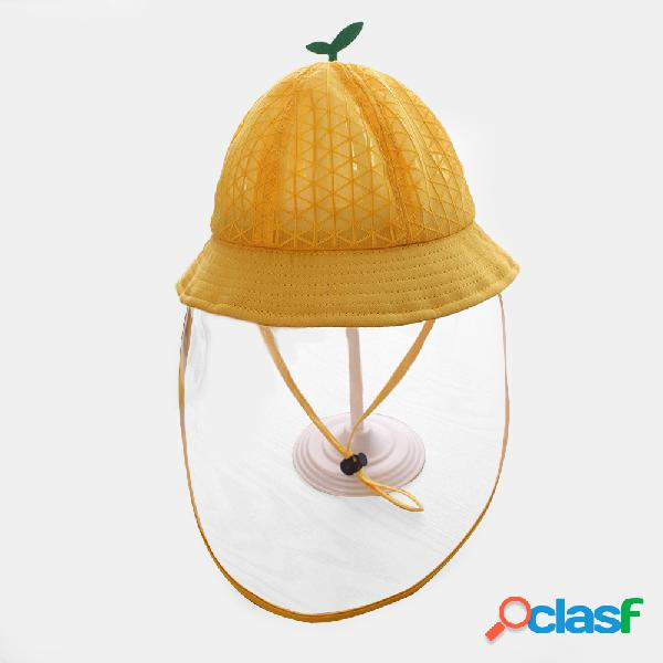 Tapa de malla infantil Fisherman transpirable Sombrero