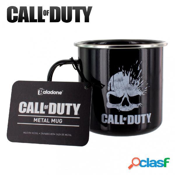 Taza Call of Duty metalica