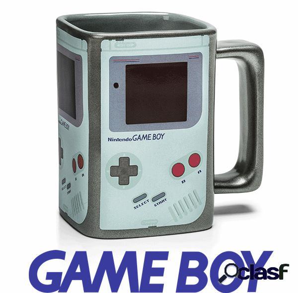 Taza Game Boy termica 3D