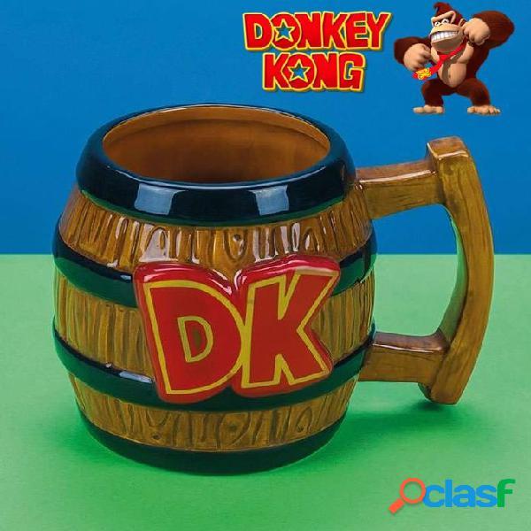 Taza barril Donkey Kong 3D