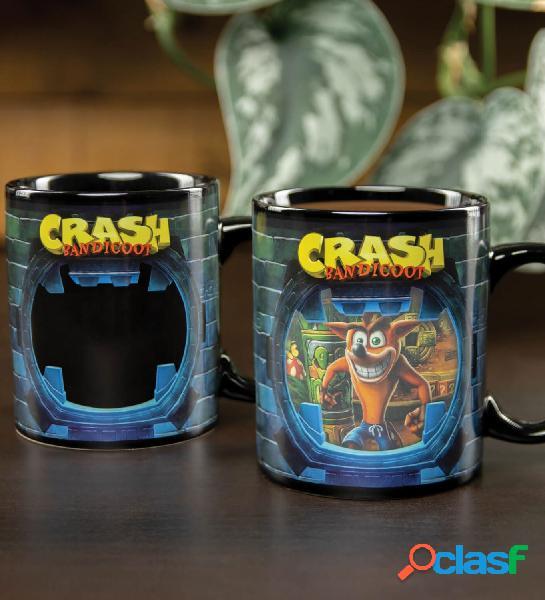 Taza termica Crash Bandicoot