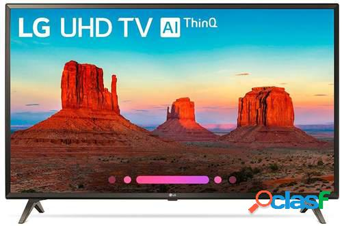 "Televisor LG 75"" 75UK6200PLB - UHD 4K, Smart TV ThinQ AI TV,"