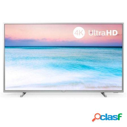 "Televisor philips 65pus6554 plata - 65""/164cm - uhd 4k"