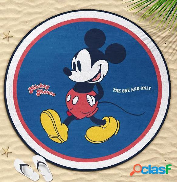 Toalla redonda Mickey