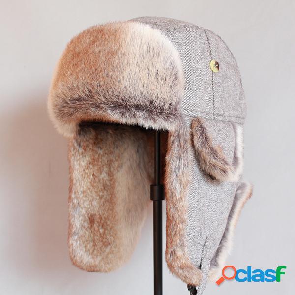 Trampero Sombrero Color sólido al aire libre Montar