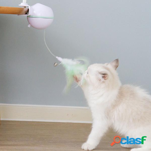 USB Electric Pet Gato Toy LED Láser Divertido Gato Palo