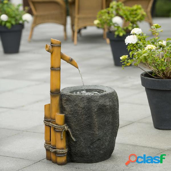 Ubbink Conjunto de fuente de agua para jardín Pigadia