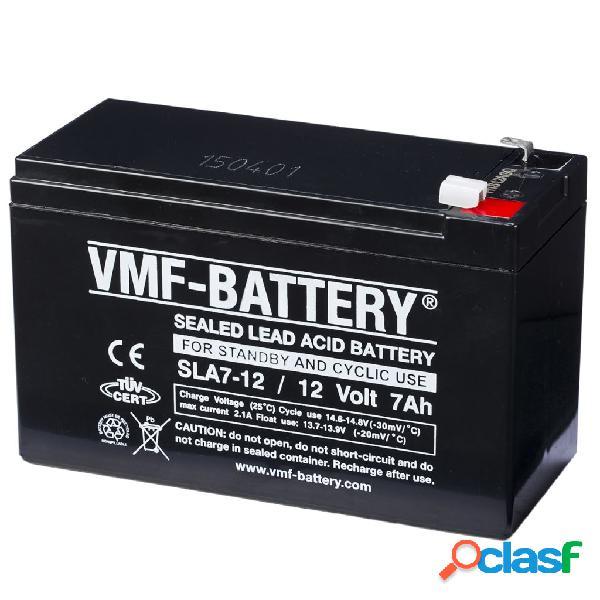 VMF Batería aparatos estáticos cíclicos 12 V 7 Ah SLA7-12