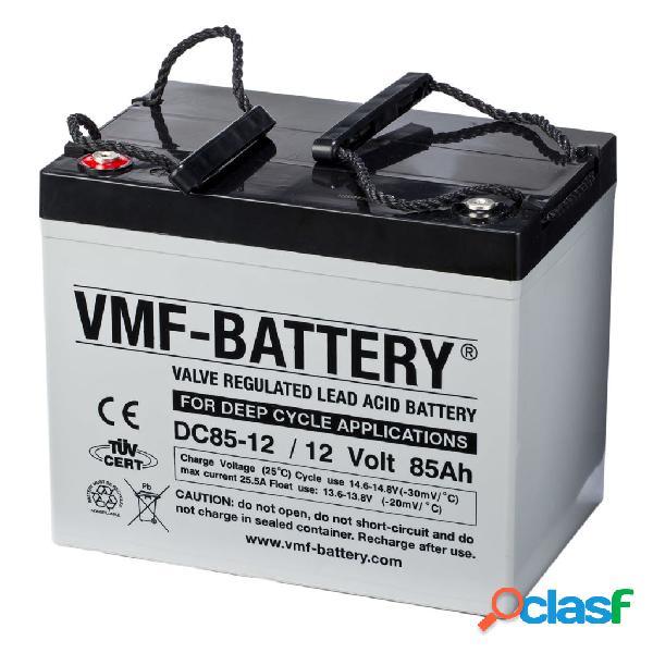VMF Batería de ciclo profundo AGM DC85-12, 12 V, 85 Ah