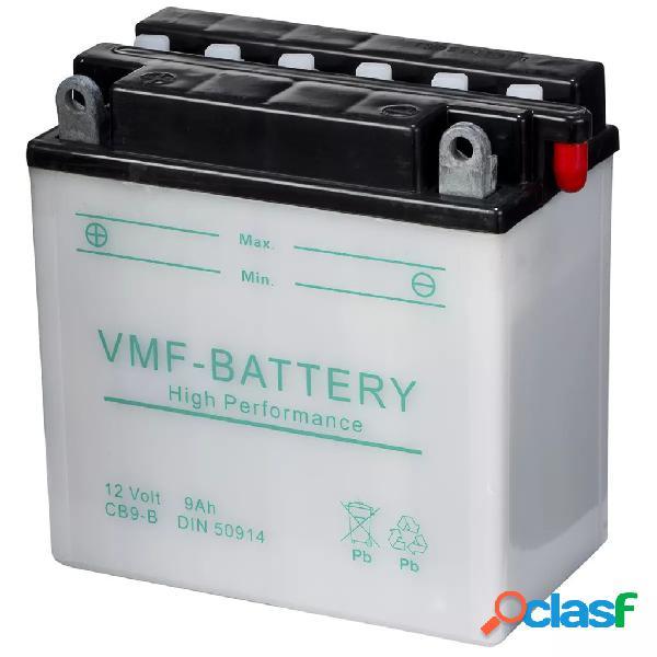 VMF Powersport Batería para motocicleta 12 V 9 Ah YB9-B,