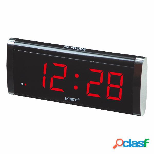VST730 1.4 pulgadas LED reloj de mesa pantalla grande reloj