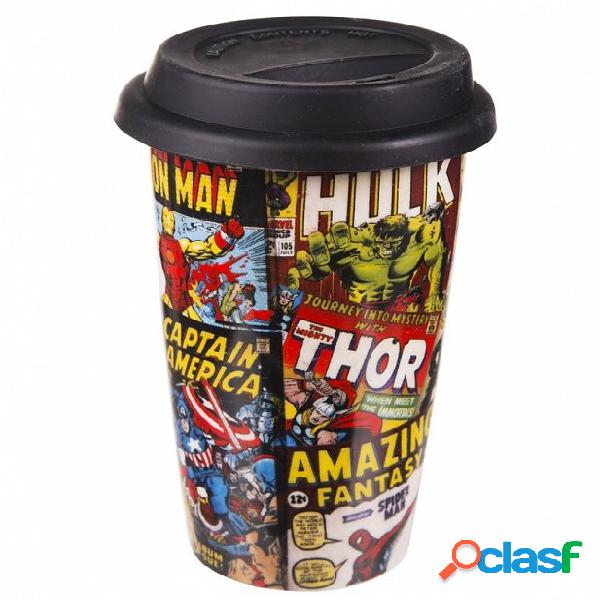 Vaso de viaje Marvel Comics