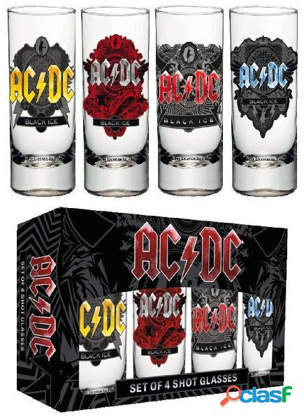 Vasos de chupitos AC/DC