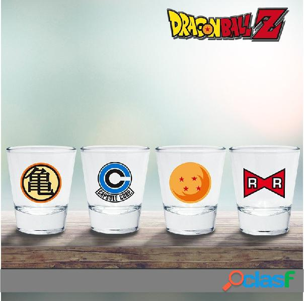 Vasos de chupitos Dragon Ball