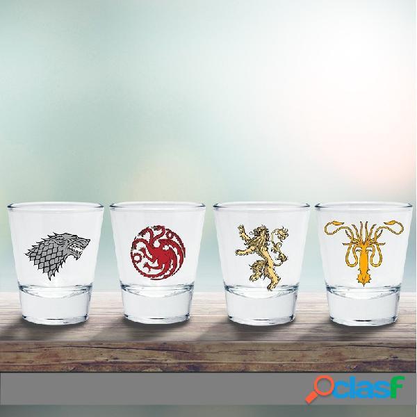 Vasos de chupitos Juego de Tronos