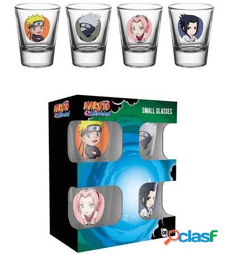 Vasos de chupitos Naruto Personajes