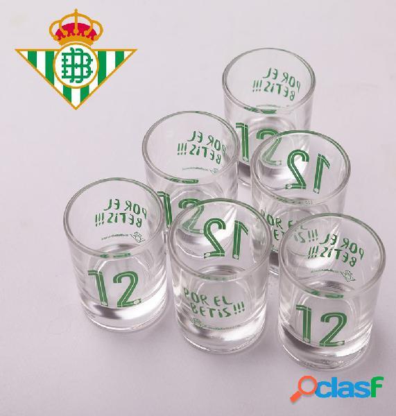 Vasos de chupitos Real Betis