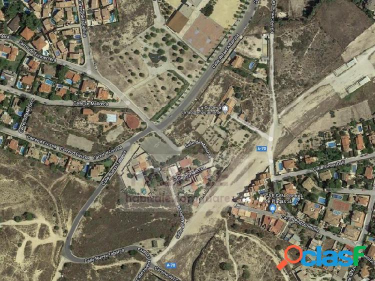 Venta de suelo urbano entre San Juan de Alicante y Mutxamel