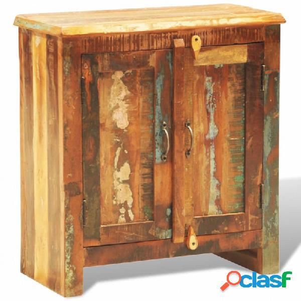 VidaXL - Aparador de madera reciclada con 2 puertas estilo