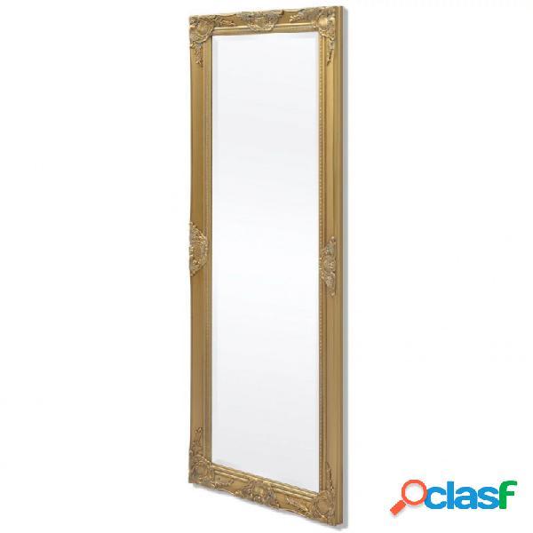 VidaXL - Espejo de pared estilo barroco 140x50cm dorado Vida