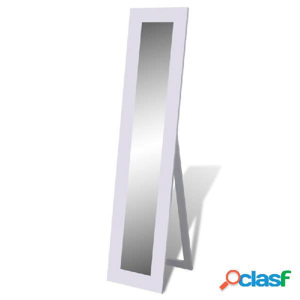 VidaXL - Espejo de pie de cuerpo entero blanco Vida XL