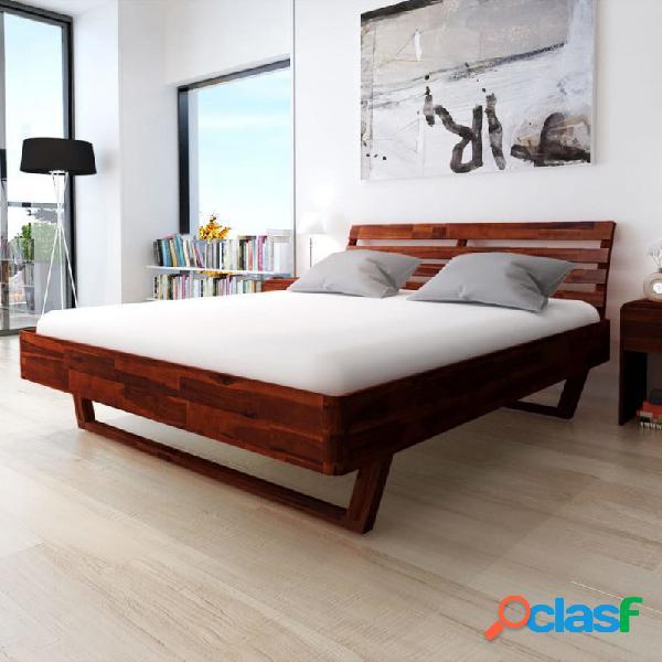 VidaXL - Estructura de cama demaderamaciza de acacia