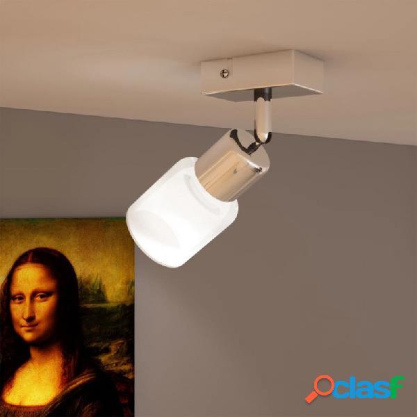 VidaXL - Lámpara de techo LED con un foco de vidrio