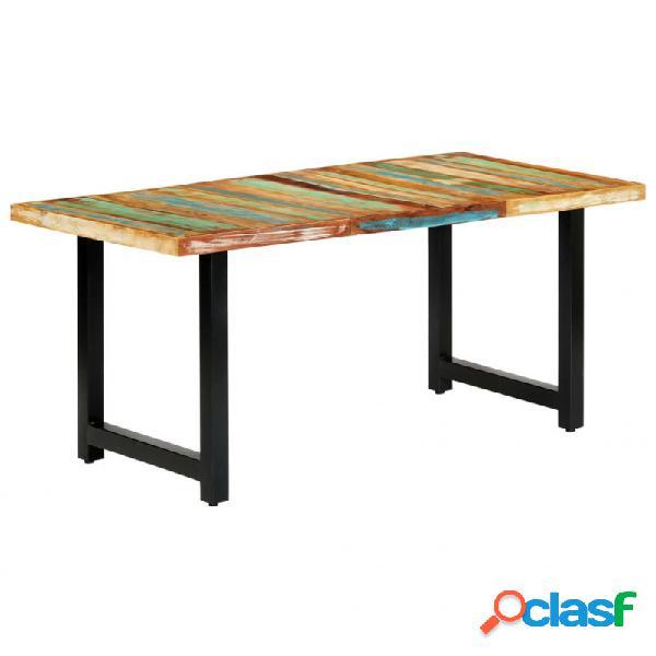 VidaXL - Mesa de comedor de madera maciza reciclada