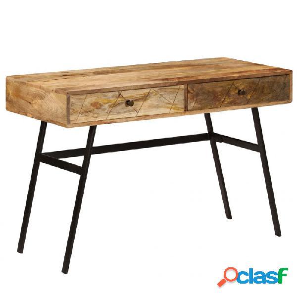 VidaXL - Mesa de escritorio con cajonesmaderamangomaciza