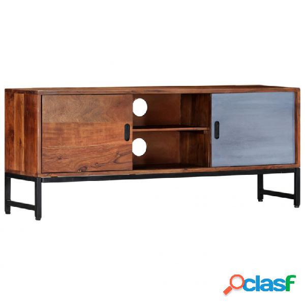 VidaXL - Mueble para TV demaderamaciza de acacia 120x30x49cm