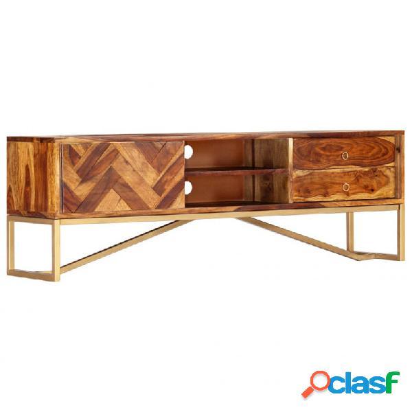 VidaXL - Mueble para TVmaderamaciza de sheesham 140x30x45cm