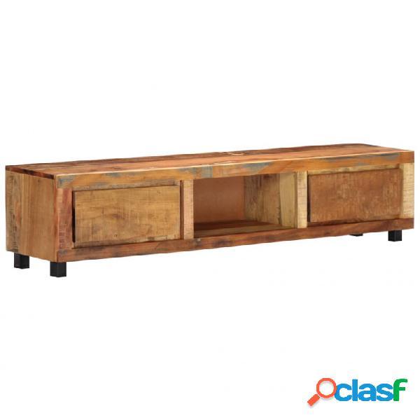 VidaXL - Mueble para la TV 150x30x33cmmaderamaciza reciclada
