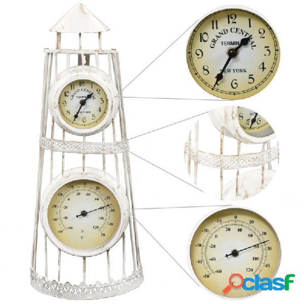 VidaXL - Reloj de pared con termómetro vintage Vida XL