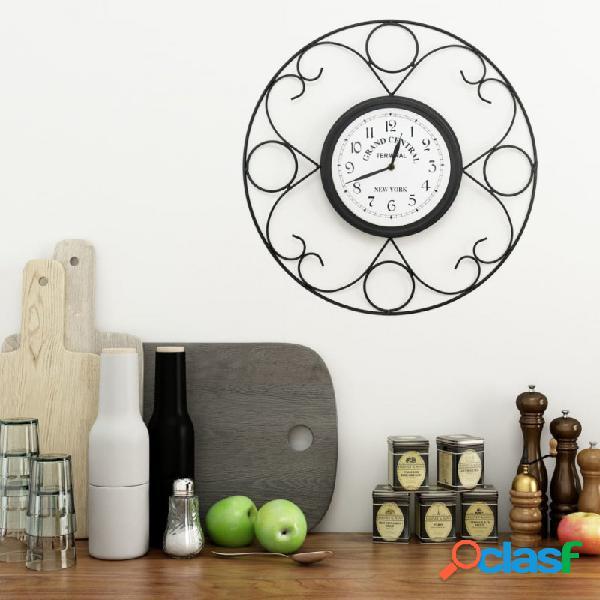 VidaXL - Reloj de pared de jardín vintage 45cm Vida XL
