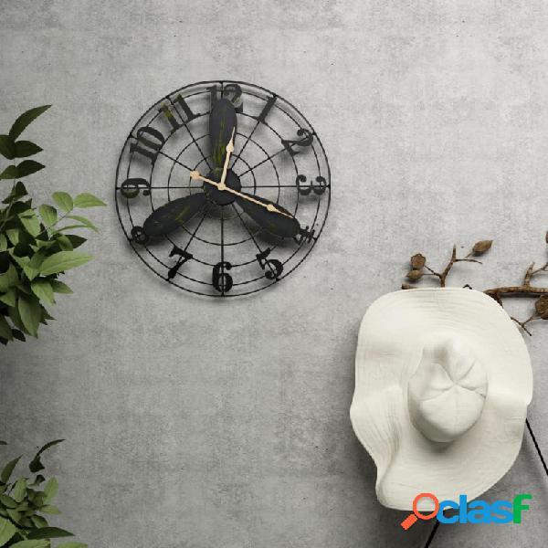 VidaXL - Reloj de pared de jardín vintage 46cm Vida XL