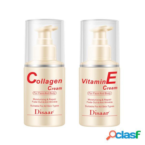 Vitamina E crema hidratante reafirmante para la piel crema