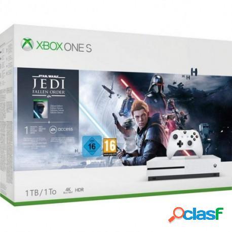 Xbox One S 1TB + Star Wars Jedi: Fallen Order Deluxe Edition